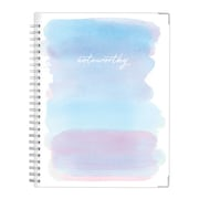 "2018-2019 Noteworthy 7"" x 9"" Weekly/Monthly Planner, Blur Stripe (107714)"