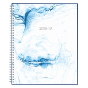 "2018-2019 Blue Sky 8.5"" x 11"" Weekly/Monthly Planner, Ocean (105270)"