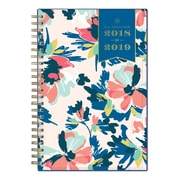 """2018-2019 Day Designer for Blue Sky 5"""" x 8"""" Weekly/Monthly Planner, Carrie Floral (108310)"""