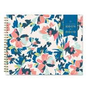 "2018-2019 Day Designer for Blue Sky 10"" x 8"" Weekly/Monthly Planner, Carrie Floral (108312)"
