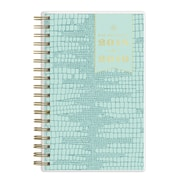 "2018-2019 Day Designer for Blue Sky 3.625"" x 6.125"" Weekly/Monthly Planner, Mint Le Liz (108318)"