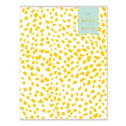 "2018-2019 Day Designer for Blue Sky 8.5"" x 11"" Monthly Planner, Gold Spotty (108327)"
