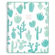 "2018-2019 Blue Sky 8.5"" x 11"" Weekly/Monthly Planner, Saguaro (107677)"