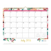 "2018-2019 Blue Sky ""15 x 12"" Monthly Wall Calendar, Hailey (104824)"