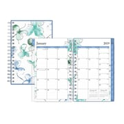 "2019 Blue Sky 3.62""H x 6.12""W Planner Lindley Weekly/Monthly Wirebound (110401)"