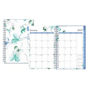 "2019 Snow & Graham for Blue Sky Planner, Blackberry Matte Lam. LGB 5""H x 8""W RY Daily/MonthlyWirebound (109309)"