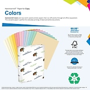 """Hammermill® Colors Paper, 24lb, 11"""" x 17"""", Ivory, 500/Ream (104414)"""