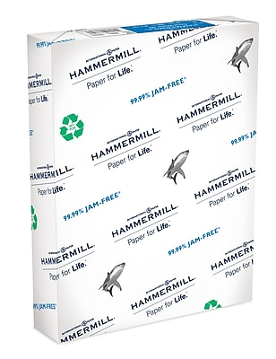 Hammermill Great White Copy Paper, 8-1/2