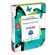 """Hammermill 3 Hole Punch Laser Copy Paper, 8-1/2"""" x 11"""", 96 Bright, 24 LB, 600 Sheets"""