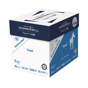 "Hammermill® Tidal Paper, 20lb, 8.5"" x 11"", 92 Bright, White, Express Pack, 2500/Case, No Ream"