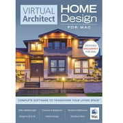 Avanquest Virtual Architect Home Design Software For 1 User, Mac, Download  (43369