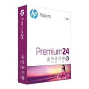 "HP Laser Copy Paper, 8-1/2"" x 11"", 98 Bright, 24 LB, 500 Sheets"