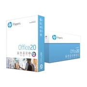"HP Office Paper, 20 Lb., 92 Bright, 8 1/2"" x 11"", 10-Ream Case"