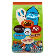 Hershey Halloween All Time Greats Miniatures, 250 Pieces (HEC93582)