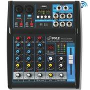 Pyle PYRPMXU43BT Channel Bluetooth Studio Mixer Black