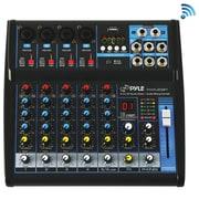 Pyle PYRPMXU63BT 6-Channel Bluetooth Studio Mixer Black