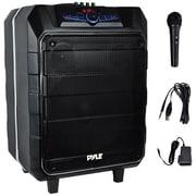 Pyle PYRPWM1235BT 600-Watt Portable Active Bluetooth Speaker System Black