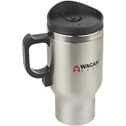 Wagan 12 Volt Deluxe Double Wall Stainless Steel Heated Travel Mug (WGN6100)