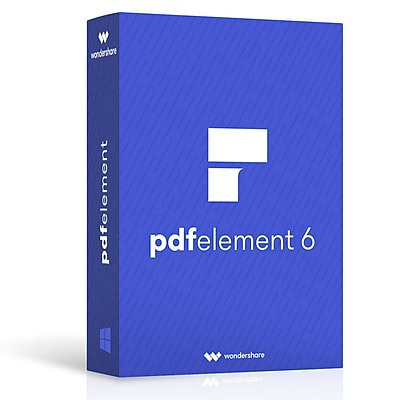 Wondershare PDFelement 6 Pro for 1 User, Mac, Download (ws202992)