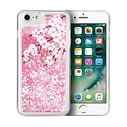 SumacLife Sparkling Cascading Waterfall Protective Case for iPhone 8 PLUS / 7 PLUS, Cherry (APLSKN813)