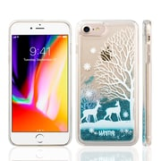 SumacLife Sparkling Cascading Waterfall Protective Case for iPhone 8 / 7, Winter (APLSKN807)