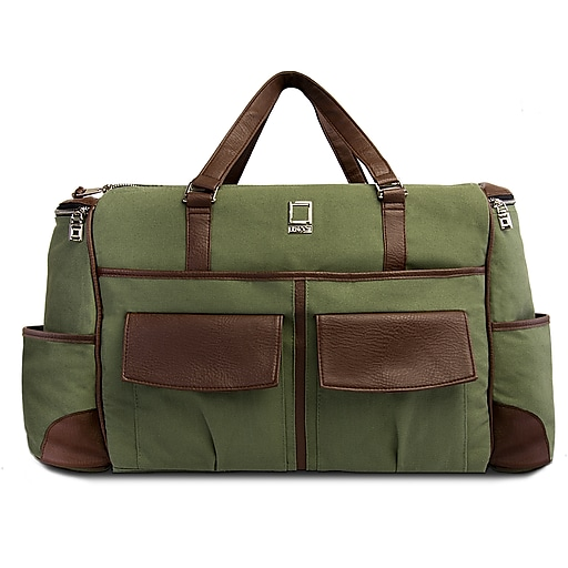 6a9612686cb9 SumacLife Luggage Duffel Travel Carry-on Bag Fits up to 15.6 Inch Laptop,  Forest Green (PT_NBKLEA811_DF)