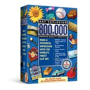 Nova, Art Explosion 800,000, 1 User DVD (ARWT-NRS)