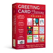 Nova, Greeting Card Factory Deluxe, 1 User, DVD (RMWT-NRS)