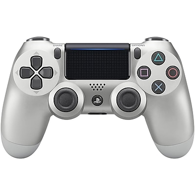Sony PlayStation4 DUALSHOCK4 Wireless Controller Silver (MEE3001541)
