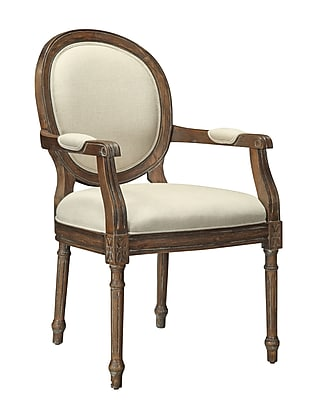 Coast to Coast Rayon/Linen Armed Accent Chair,