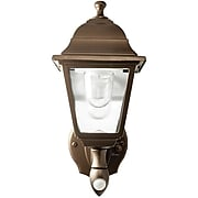 Maxsa LED Wall Sconce, Battery-Powered & Motion-Activated, Dark Bronze (46219)