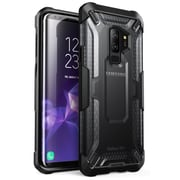 i-Blason Samsung Galaxy S9 Plus Case SUPCASE Unicorn Beetle Series Premium Hybrid Protective Frost Clear Black (S-G-9P-UB-FT/BK)