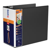 "QuickFit D-Ring View Binder, 5"" Black (87071)"