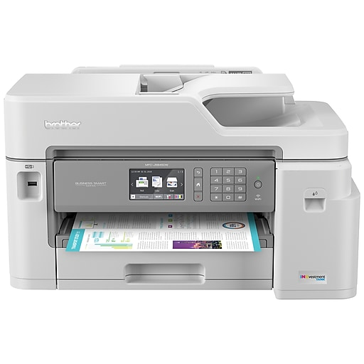 Brother MFC-J5845DW USB, Wireless, Network Ready Color Inkjet All-In-One  Printer