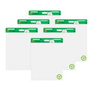 "Post-it® Easel Pad, 25"" x 30"", Recycled, White, 6 Pads/Pack (559RP-VAD6)"