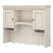 "Bush Furniture Stanford Hutch for Computer Desk, 48""W Antique White (WC53219-03)"