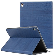 "Vangoddy Premium Slim Folding Stand Smart Cover Case with Sleep Mode for iPad 9.7 "", Blue (PT_IPPLEA372_X1)"
