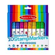 Melissa & Doug 10 Stamp Markers - Fun Designs (9079)