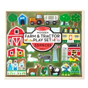 Melissa & Doug Wooden Farm & Tractor Play (4800)