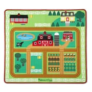 Melissa & Doug Round the Barnyard Farm Rug (9425)