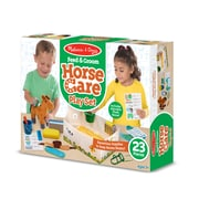 Melissa & Doug Feed & Groom Horse Care Play Set (8537)