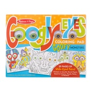 Melissa & Doug Monsters Googly Eyes Coloring Pad (5166)