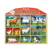 Melissa & Doug Farm Friends 10 Collectible Farm Animals (594)