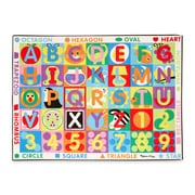 Melissa & Doug ABC 123 Jumbo Rug Set 30ft (5193)