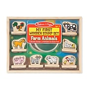 Melissa & Doug My First Wooden Stamp Set - Farm Animals (2390)
