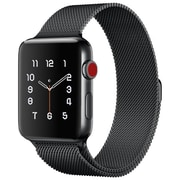 LAX Milanese Style Apple Watch Band 42mm, Black (LAX-AWML42-BLK)