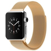 LAX Milanese Style Apple Watch Band 38mm, Gold (LAX-AWML38-GLD)