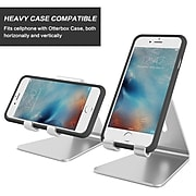 LAX Cell Phone Stand Holder, Silver (LAXALSTND02-SLV)