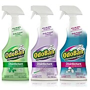 OdoBan Disinfectant Odor Eliminator Ready-to-Use 32 oz. Spray, Scent Variety, 3/Pack (OBV3PK-STP)