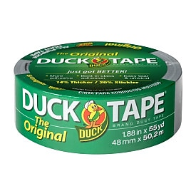 Duck Tape® Brand Original Strength Duct Tape, Silver, 1.88